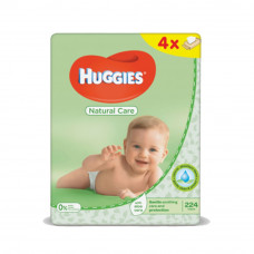Салфетки влажные Huggies Natural Care, 56шт х 4уп.