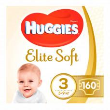 Подгузники Huggies Elite Soft, размер 3, 5-9 кг, 160 шт