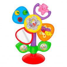 Развивающая игрушка Kiddieland Цветочек на присоске на украинском (54924)