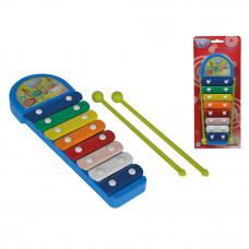 Музыкальный инструмент Ксилофон Веселые ноты Simba (6834043)