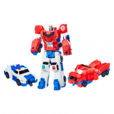Набор игрушек Transformers Robots in Disguise Оптимус Прайм и Стронгарм (C0628/C0629)