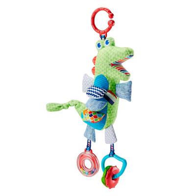 Мягкая игрушка-подвеска Крокодильчик Fisher-Price (DYF89)