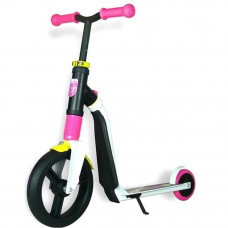 Самокат Highwayfreak 3.0 Scoot&Ride Бело-Розово-Желтый (SR-202310-WHITE-PINK-YELLOW)