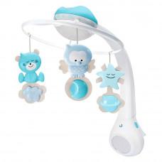 Музыкальный мобиль Infantino 3 в 1 с проектором голубой (004896I)
