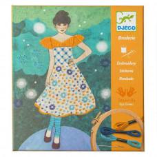 Художественный комплект Вышивка Вечерняя мода DJECO (DJ09842)