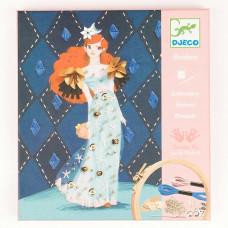 Художественный комплект Вышивка Коктельная мода DJECO (DJ09844)