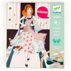 Художественный комплект Вышивка Неделя моды DJECO (DJ09845)