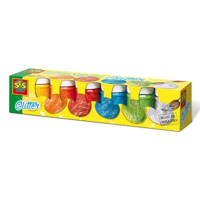 Набор для рисования гуашь Блеск SES 6 цветов (00333S)