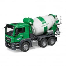 Машинка игрушечная Бетоновоз Bruder Ман бело-зеленый (03710)