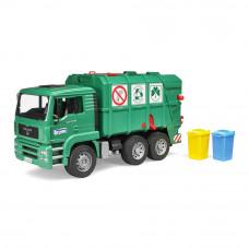 Машинка игрушечная Мусоровоз Bruder Ман зеленый (02753)