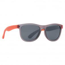 Солнцезащитные очки для детей Матовые INVU серо-оранжевые (K2600G)