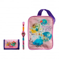 Набор из цифровых часов, кошелька и сумки Принцессы TBL (PS36308)