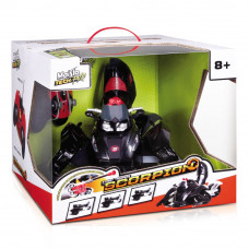 Машинка-трансформер Maisto Street troopers Scorpion на радиоуправлении черная (81182 black)