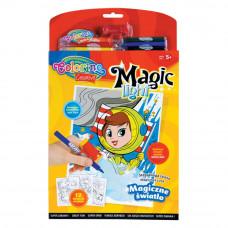 Набор красок Магический фонарик Colorino 6 фломастеров (31936PTR)