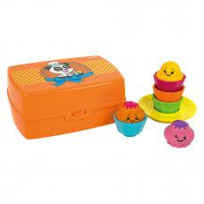Развивающая игрушка-сортер Веселые капкейки Tomy (T72546)