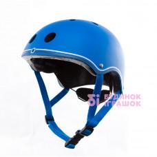 Защитный шлем для детей GLOBBER синий 51-54см (500-100)