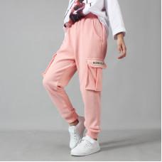 Штаны для девочки Фокус, розовый
