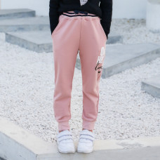 Штаны для девочки Модель, розовый