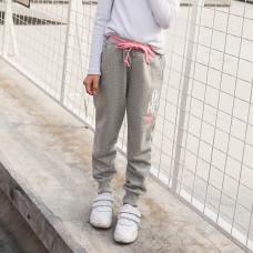 Штаны для девочки Модель, серый
