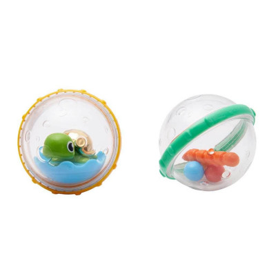 Игрушка для ванны Плавающие пузыря Munchkin черепашка с фигурками (2900990720873)