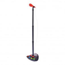 Музыкальный инструмент Диско Микрофон на стойке Simba 50-100 см (6834100)