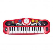 Музыкальный инструмент Диско Электросинтезатор 37 клавиш 8 ритмов Simba 56 см (6834101)