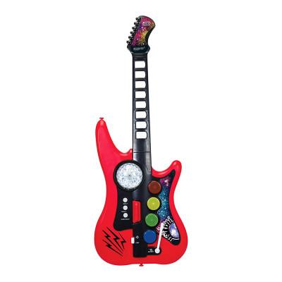 Музыкальный инструмент Диско Гитара 10 звуковых эффектов Simba 66 см (6834102)