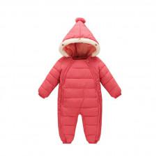 Комбинезон зимний для девочки New-Year, розовый