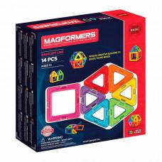 Магнитный конструктор Базовый набор Magformers 14 элементов  (701003)