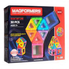 Магнитный конструктор Базовый набор Magformers 30 элементов  (701005)