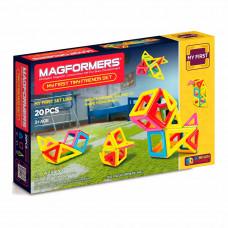 Магнитный конструктор Маленькие друзья Magformers 20 элементов  (702004)