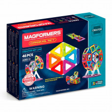 Магнитный конструктор Карнавал Magformers 46 элементов  (703001)