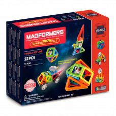 Магнитный конструктор Космический Magformers 22 элемента  (707009)