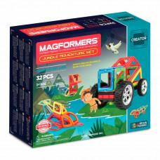 Магнитный конструктор Приключения в джунглях Magformers 32 элементов  (703009)
