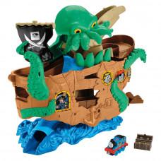 Набор Thomas and Friends Adventures Приключения на пиратском корабле (DVT14)