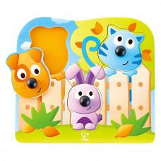 Пазлы-сортер Hape Животные с носиками (E1309)