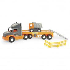 Super Tech Truck с грузовиком WADER (36710)