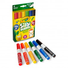 Фломастеры Crayola Silly scents 6 шт (58-8197)