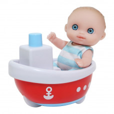 Пупс JC Toys Малыш с лодочкой 13 см (JC16912-8)