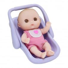 Пупс JC Toys Малыш с автокреслом 13 см (JC16912-9)