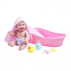 Пупс JC Toys Новорожденный с аксессуарами 33 см (JC18370)