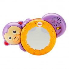 Музыкальная игрушка Fisher-Price Следуй за мной Обезьянка с зеркальцем и световым эффектом (FHF75)