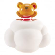 Игрушка для ванны Hape Teddy принимает душ (E0202)