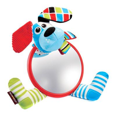 Игрушка на коляску Yookidoo Мое первое зеркальце Собачка (40143)