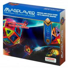 Конструктор Magplayer Магнитный набор 45 элементов (MPA-45)