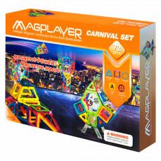 Конструктор Magplayer Магнитный набор 72 элемента (MPA-72)