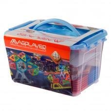 Конструктор Magplayer Магнитный набор 48 элементов (MPT-48)