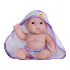 Пупс JC Toys Лулу с фиолетовым полотенцем 20 см (JC16822-1)