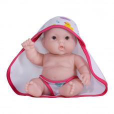 Пупс JC Toys Лулу с розовым полотенцем 20 см (JC16822-2)