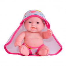 Пупс JC Toys Молли с розовым полотенцем 20 см (JC16822-3)